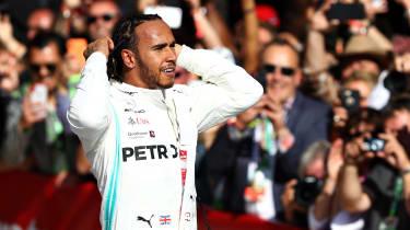 Lewis Hamilton sixth F1 world title