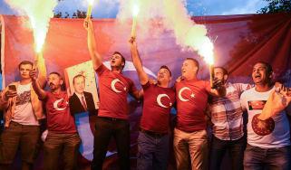 Turkish president Recep Erdogan has won a second term