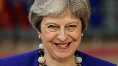 Theresa May has had more to smile about over the past month