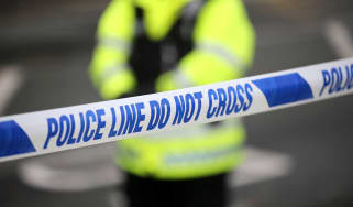 Wiltshire police declare major incident after pair exposed to 'unknown substance'