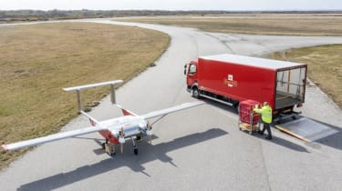 Royal Mail drone services