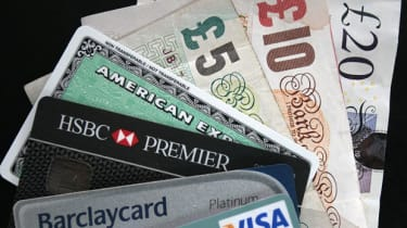 Sterling notes and credit cards