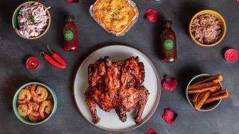 Juici Jerk 'Feel The Love' meal kit