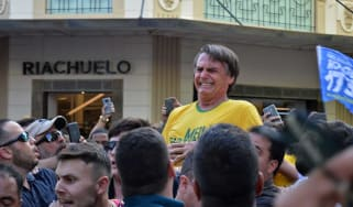 Brazilian presidential candidate Jair Bolsonaro was stabbed at a campaign rally