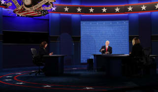 Mike Pence and Kamala Harris square off in the first, and only, vice-presidential debate