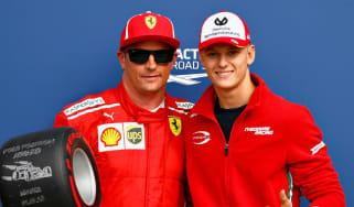 Mick Schumacher Toro Rosso F1