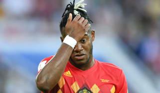 World Cup group G England 0 Belgium 1 Michy Batshuayi