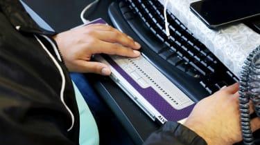 Braille reader