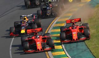 Ferrari's Sebastian Vettel and Charles Leclerc finished fourth and fifth at the Australian GP