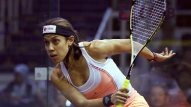 Squash world number one Nicol David