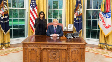 Trump, Kim Kardashian