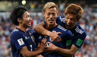 World Cup group H Japan vs. Poland Senegal vs. Colombia