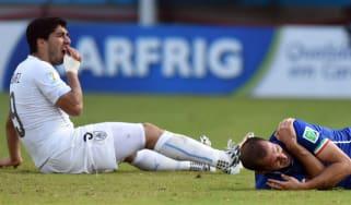 Luis Suarez Uruguay World Cup