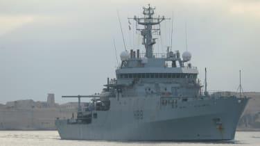 HMS Enterprise, Malta