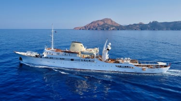 Christina O superyacht