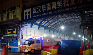 Huanan Seafood Market in Wuhan as been cited as the epicentre of the Covid pandemic