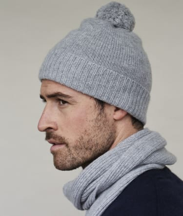 Joshua Ellis New Cashmere Accessory Line hats and scarf 2021