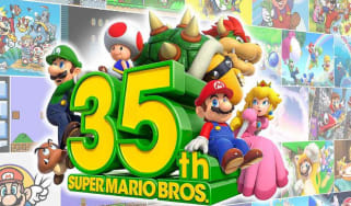 Super Mario Bros 35th anniversary