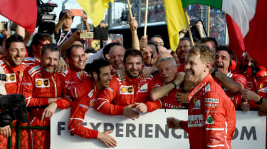 Vettel Hamilton F1