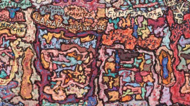 Caught in the Act (La Main dans le sac) by Jean Dubuffet (1961)