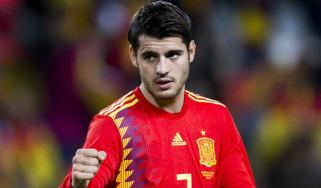 Spain 2018 World Cup squad Alvaro Morata