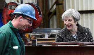 Theresa May, campaign trail