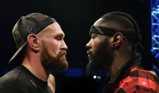 Deontay Wilder vs. Tyson Fury boxing December