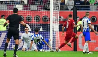 Liverpool striker Roberto Firmino scored the winning goal against Monterrey