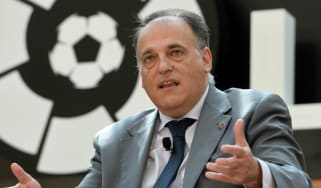 La Liga president Javier Tebas