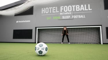Hotel Football in Manchester is co-owned by Gary Neville, Ryan Giggs, Phil Neville, Paul Scholes and Nicky Butt