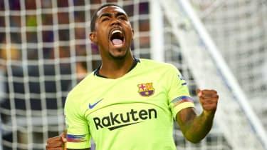 Brazilian winger Malcom signed for Barcelona from Bordeaux in a £36m deal in July 2018