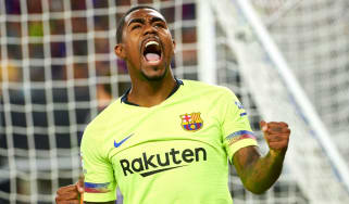 Brazilian winger Malcom signed for Barcelona from Bordeaux in a £36m deal in July 2018