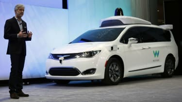 Waymo cars open to public