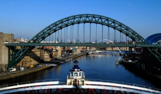 River Tyne in Newcastle