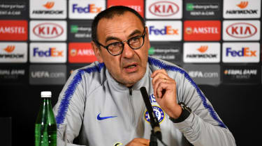 Chelsea head coach Maurizio Sarri spoke to the media ahead of the Europa League final