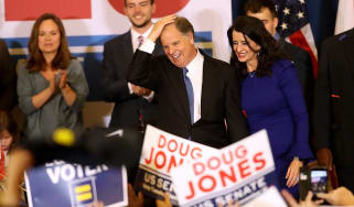 Doug Jones secures historic win in race for Alabama Senate seat