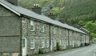 Aberllefenni village in Wales