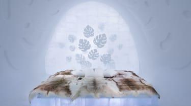 Art suite - MonsteraNina Kauppi & Johan Kauppi ICEHOTEL 28Photo by - Asaf Kliger