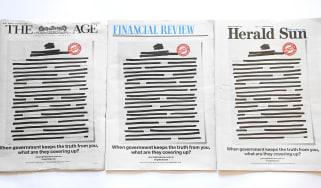 Australian newspapers