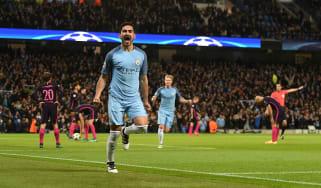 Ilkay Gundogan, Man City vs Barcelona