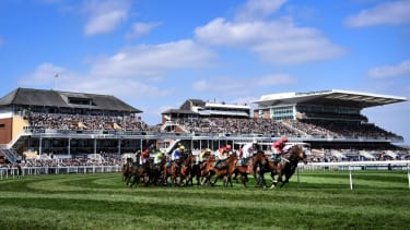 A general view of Aintree Racecourse in Liverpool, England