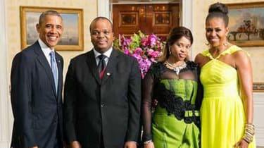President Obama and King Mswati III