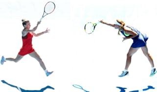 Simona Halep v Caroline Wozniacki Australian Open women's final 2018