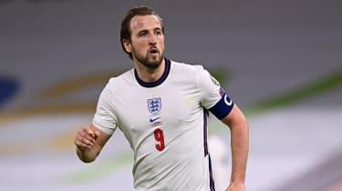 Tottenham striker Harry Kane is captain of the England team