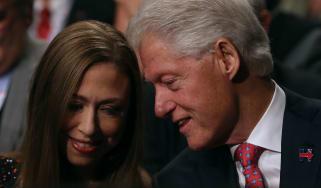 Chelsea Clinton Bill Clinton