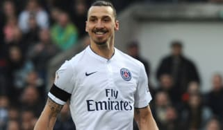 Zlatan Ibrahimovico of Paris-Saint-Germain