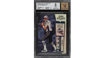 Tom Brady rookie card PWCC Marketplace