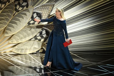 HOLLYWOOD, CA - FEBRUARY 26:Actor Meryl Streep onstage during the 89th Annual Academy Awards at Hollywood & Highland Center on February 26, 2017 in Hollywood, California.(Photo by Kevin Winte