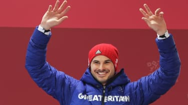 Dom Parsons bronze medal Team GB Winter Olympics