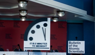 The Doomsday clock moves 30 seconds closer to the end of the world